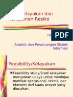 Pertemuan 3 APSI - Studi Kelayakan Dan Manaj Resiko