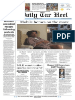 The Daily Tar Heel for Nov. 10, 2015