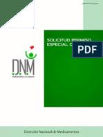 Visado Especial Solicitud DNM - El Salvador