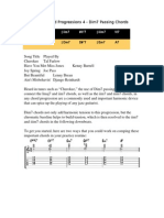Jazz Guitar Chord Progressions 4