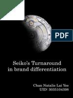 Seiko Case Analysis