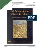 Del Administrador al Gerente Publico - INAP 1997.pdf