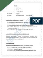 ANTECEDENTES GENERALES PARA RENDIR EXAMEN EN IP CHILE 2015