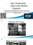 Digital Citizenship Parent Night