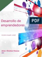 Guía de trabajo de Desarrollo de emprendedores