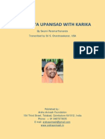 Mandukya_Karika by Swami Paramarthananda
