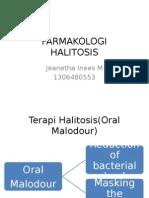 Farmakologi Halitosis