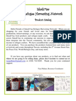 Iskashitaa Refugee Harvesting Network Product Catalog