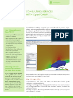 OpenFOAM Consulting Services Flyer