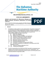 Information Bulletin No 129 - STCW 2010 Amendments
