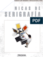 Técnicas de Serigrafía II