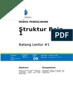 Struktur Baja 1 - Batang Lentur 1 (1)