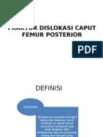 Dislokasi Caput Femur