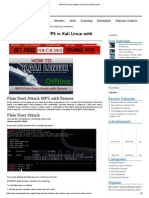 WPS Pixie Dust Attack in Kali Linux With Reaver