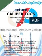 Lecture 5 Caliper Logs
