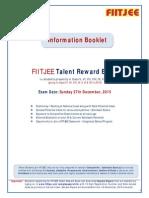 FIITJEE Info Booklet