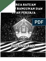 Jurnal Harga Kota Bali 2015