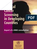 Cervical Screening in Developing Countries