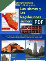 11, 12) Concreto Armado Semana 11, 12 (26-10, 02-11) Diseño Sismorresistente Revnasa