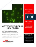 Cryptosporidium Key Facts