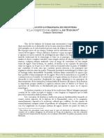 Tommaso Testaverde - La Noción Lotmaniana de Frontera y La Conquista de América, De Todorov