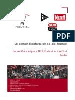 Climat électoral île-de-France