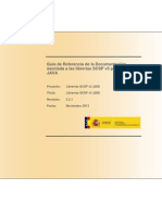Guia de Referencia de La Documentacion de Las Librerias Java SCSPv3.3.1