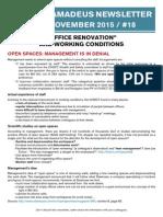 Newsletter 18 - Office Renovation - English