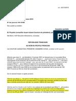 RECEL ASSURANCES 2 Sur 2 Cour de Cassation Civile Chambre Civile 1 17 Mars 2010-09-10.168 Inédit