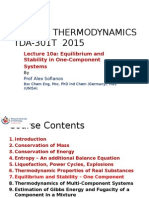 TDA 301T- 2015-10 - Thermodynamic Properties Real Substances