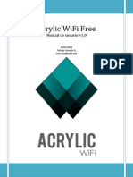 Manual de Uso Acrylic WiFi Free-V1.0