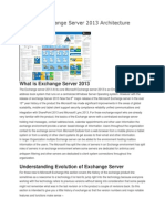 Exchange Server Evolution