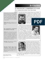 Arquitectura de La Informacion y Usabilidad en La Web