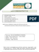 Caixa 1001 Questoes de Conhecimentos Especificos Caixa Etica Atendimento Legislacao Especifica e Con 150915022407 Lva1 App6892