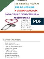 Caso Clínico Bacteriuria Asintomática en el Embarazo