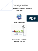 11th International Workshop on Positron and Positronium Chemistry
