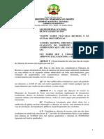 Lei Municipal 1338-2015 Chacarás Recreio