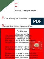 Acrostico Peru