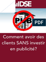 Comment avoir ses premiers clients sans dépenser en marketing?