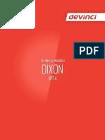 Manual Eng - Dixon