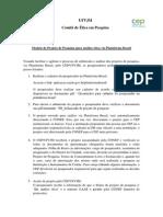 Modelo Projeto Pesquisa PB1