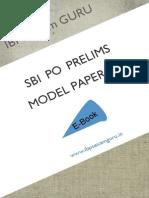 19882_SBI PO Preliminary Model Paper 16