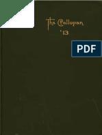 1913 Blake School Callopan Yearbook Minneapolis, Minnesota