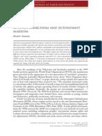 Gautney - Between Anarchism and Autonomist Marxism 2009