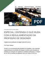 Especial | Entenda o que muda com a regulamentação da profissão de designer | Pedro Palaoro