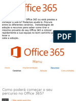 Apresentação Office365 PT Site