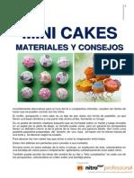 01.Minicakes- Materiales y Consejos