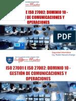 Gestión de Comunicaciones y Operaciones