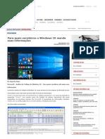 Para qPara quais servidores o Windows 10 manda suas informaçõesuais servidores o Windows 10 manda suas informações _ GGN.pdf