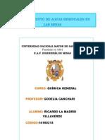 Tratamiento de Aguas Residuales en Las Minas